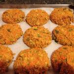 Hemp Burgers (Vegan and Gluten free).